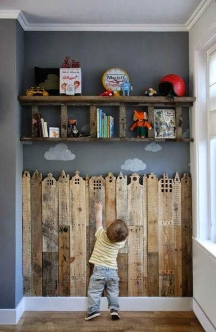 Cosas De Madera Para Bebes.Muebles De Madera Reciclada Para Habitaciones De Bebes