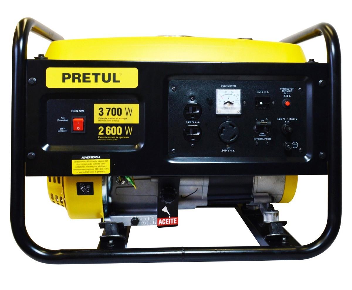 Generador de corriente eléctrica Pretul GEN-26P