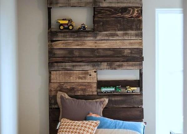 Muebles Hechos Con Palets Para Decorar Habitaciones Infantiles - Muebles-hechos-con-palet