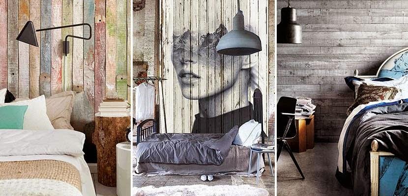 Bricolaje y decoraci n con pal s palet - Decoracion de paredes en madera ...
