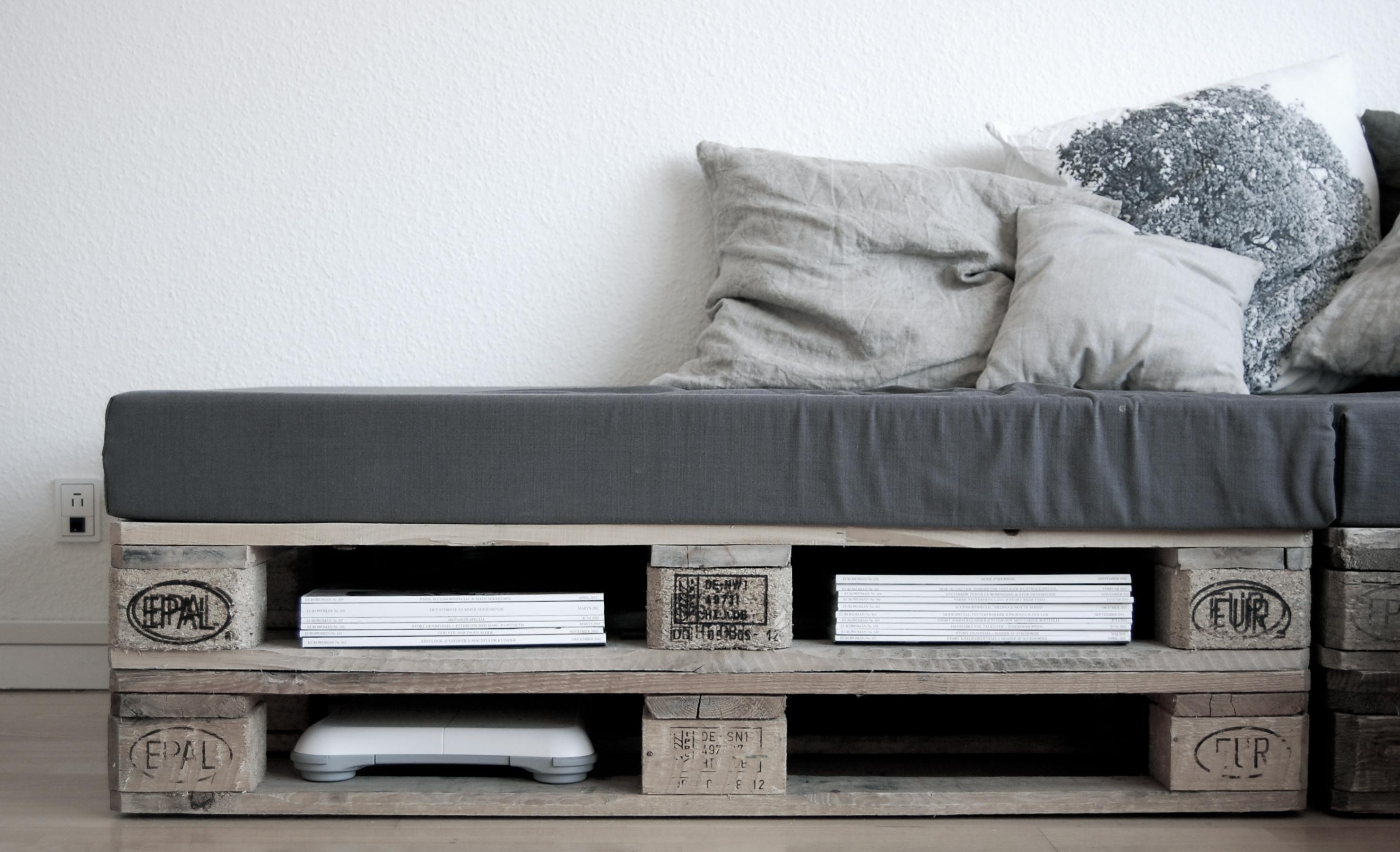Bricolaje con palés: cómo hacer muebles de madera en casa