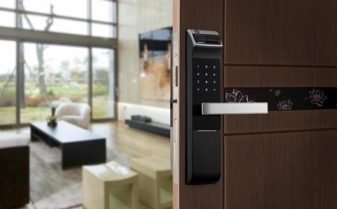 Cerraduras el ctricas para puertas modernidad y seguridad for Puerta plegable con cerradura