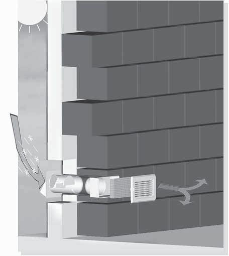 Rejillas de ventilación para los cuartos de baño
