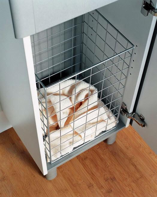 Tips para el hogar alquilado limpieza y decoraci n para ba os - Cestos para ropa sucia ...