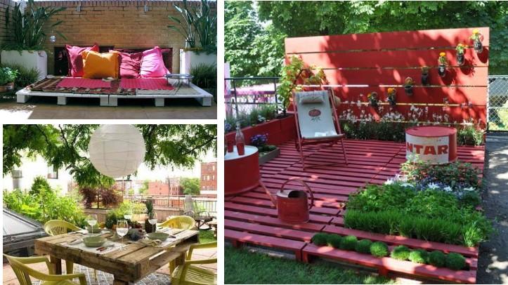 Bricolaje y jardiner a c mo hacer un jard n en casa - Decoracion acuarios baratos ...