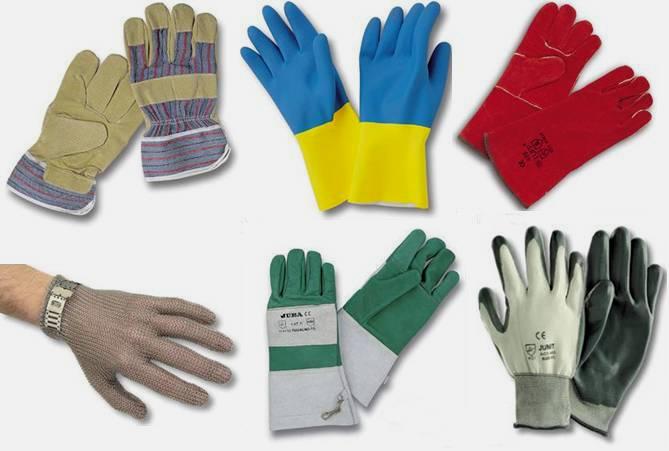 Distribuidores de equipo de seguridad industrial: guantes