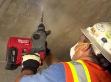 Rotomartillo inalámbrico Milwaukee, potencia para el uso industrial