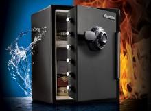 caja fuerte de seguridad contra agua y fuego