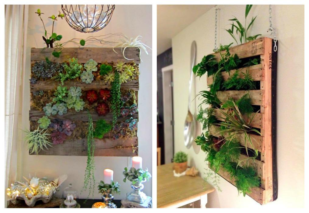 Bricolaje para jard n c mo hacer un jard n vertical casero for Como hacer un jardin interior en casa