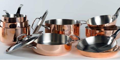 Cu les son las mejores bater as de cocina tecnolog a para for Bateria cocina profesional