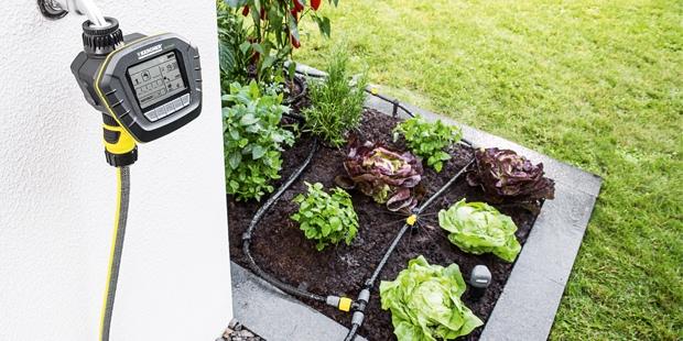 Sistema de riego automatizado para jardines y huertos de for Riego automatico jardin