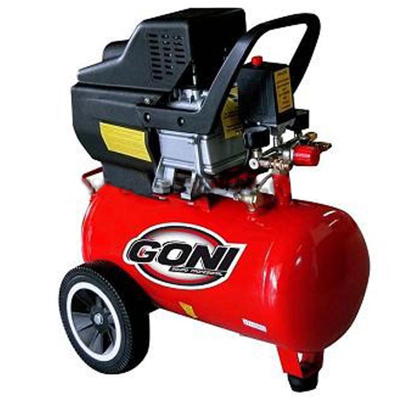 Herramientas neumáticas: Compresor Goni 975 8.9 CFM y 120 PSI