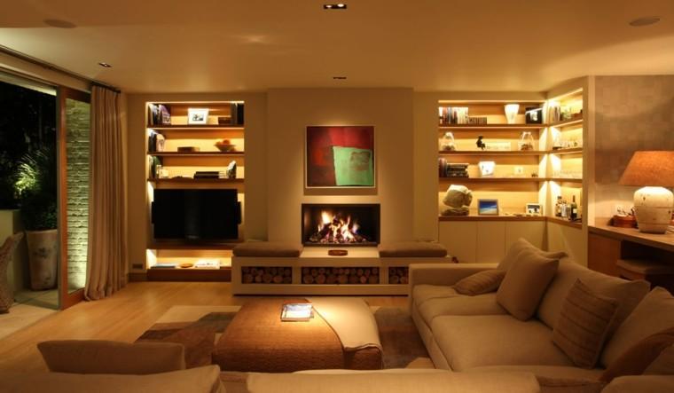 Iluminaci n c lida con focos led en invierno - Iluminacion led para el hogar ...