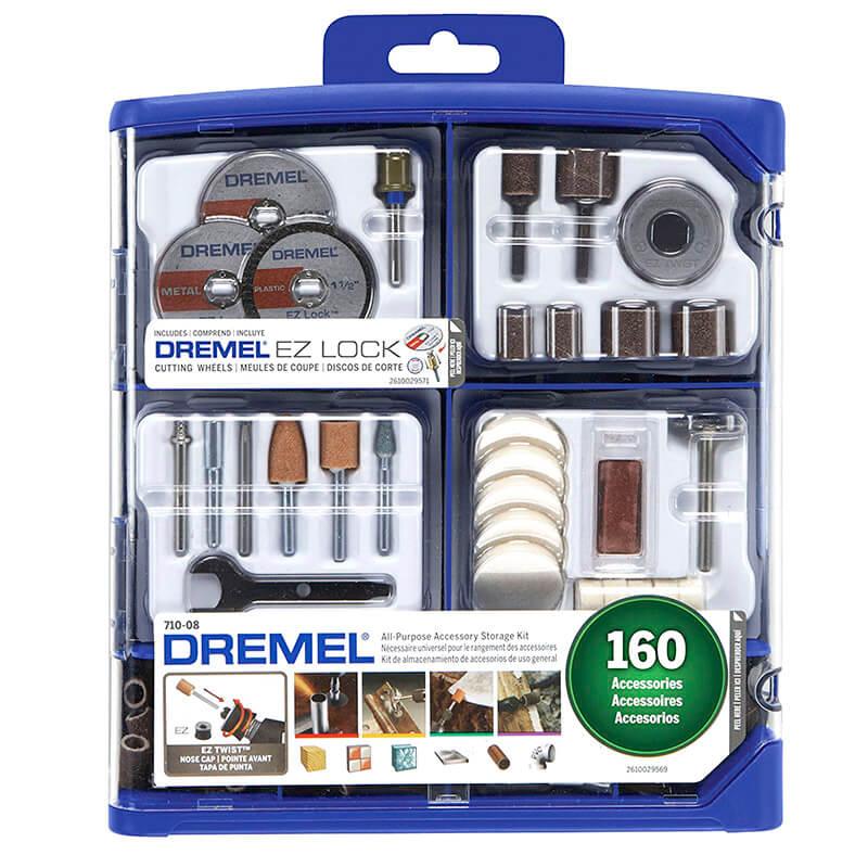 Kit De 160 Accesorios para Mototool Dremel 710-RW2