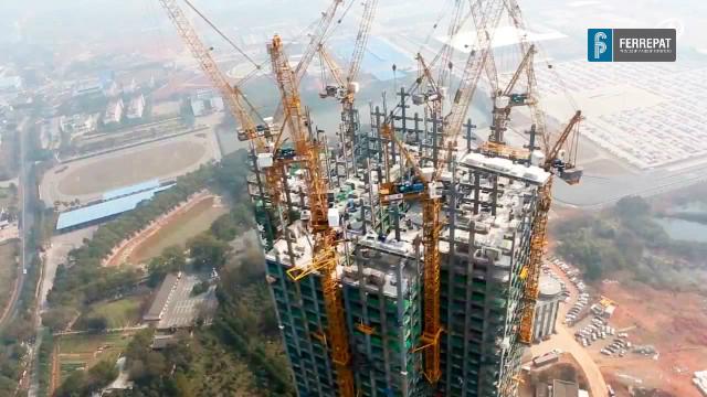 La construcci n de edificios de 57 pisos en china puede for Videos de construccion de edificios