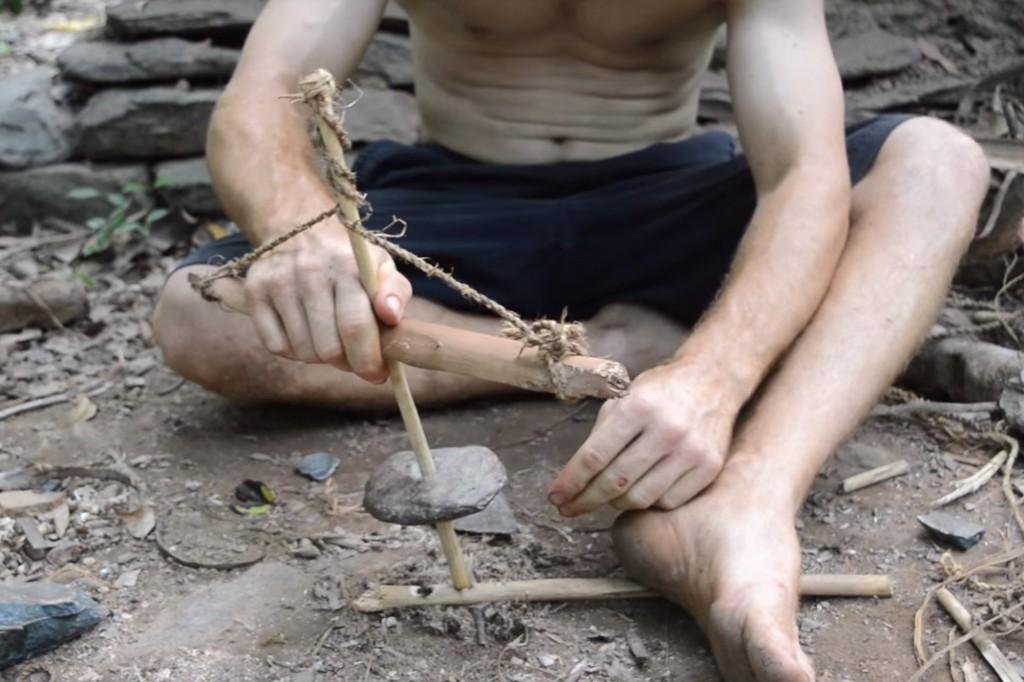 Herramientas de supervivencia | Cómo hacer un taladro manual
