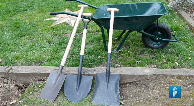 Los diferentes tipos de palas y sus funciones revista for Pala de jardineria