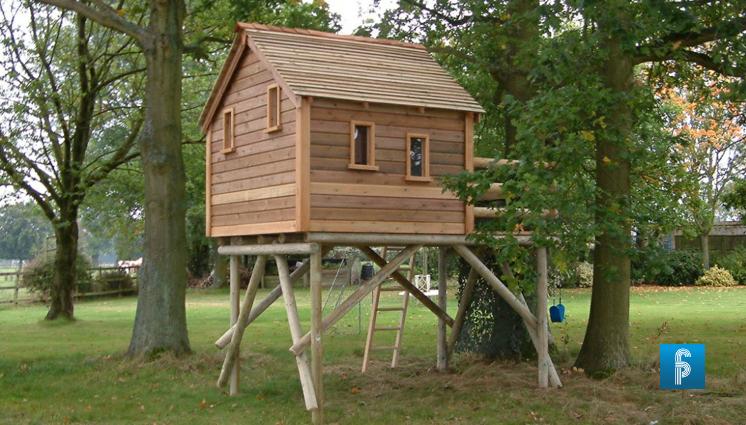 Pasos para construir una casita de madera infantil - Como construir una casa en un arbol ...