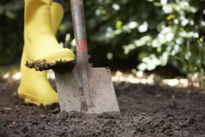 pala para jardinería