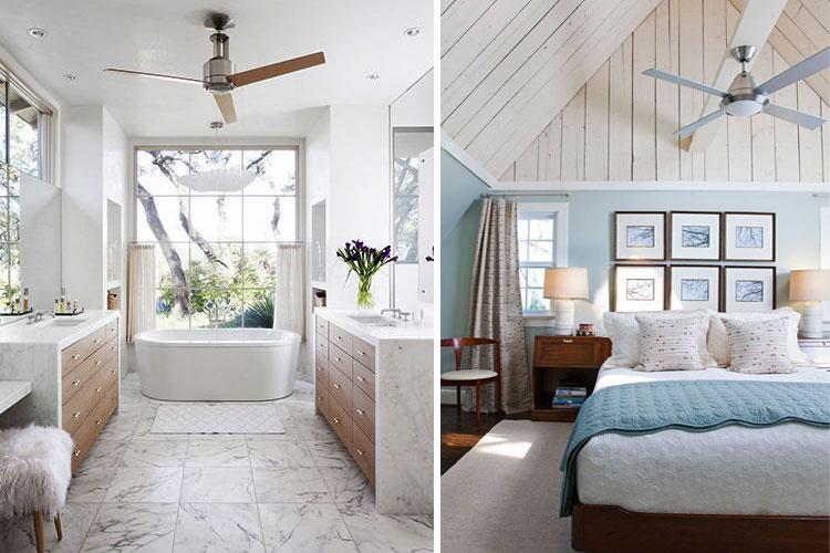 C mo refrescar la casa sin aire acondicionado f cilmente - Ventiladores de techo baratos ...