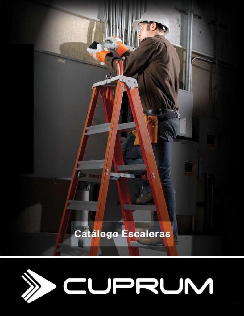 Cuprum innovaci n en escaleras de aluminio revista for Escaleras cuprum