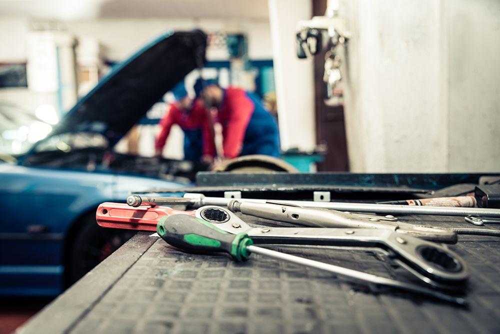 Herramientas para el taller mecanico