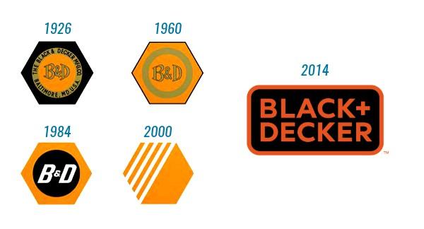 como evolucion243 el logotipo de la marca black amp decker