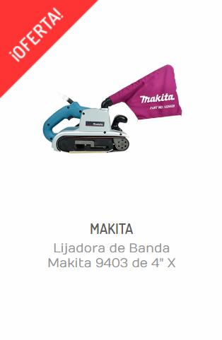 "LIJADORA DE BANDA MAKITA 9403 DE 4"" X 24"""