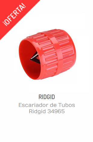 Herramientas ridgid- escariador de tubos