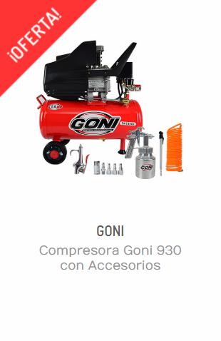 COMPRESORA GONI 930 CON ACCESORIOS