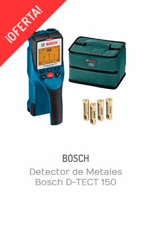 DETECTOR DE METALES BOSCH D-TECT 150 PROFESSIONAL