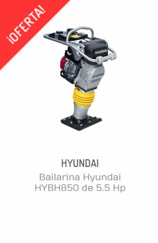 BAILARINA HYUNDAI HYBH850 DE 5.5 HP