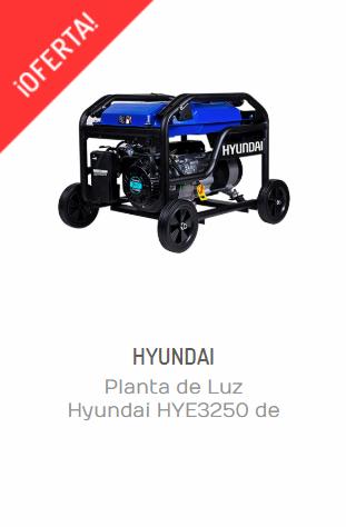 PLANTA DE LUZ HYUNDAI HYE3250 DE 3250 W Y 7 HP