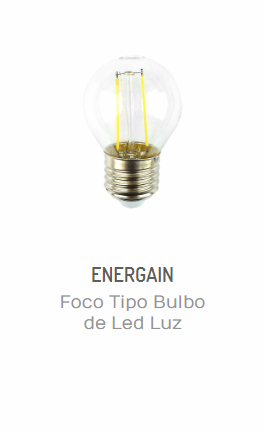 consejos de iluminación de interiores para invierno-FOCO TIPO BULBO DE LED LUZ CÁLIDA 2W ENERGAIN EG-BF2W-CE