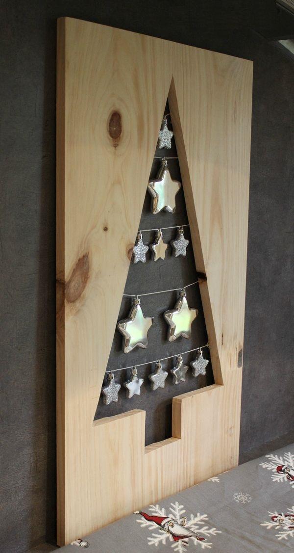 como hacer un arbol de navidad casero-Una noche brillante, una noche estrellada