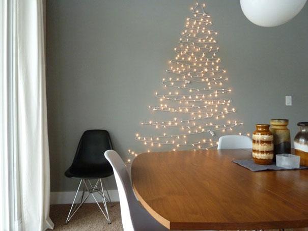 como hacer un arbol de navidad casero- arbol de navidad de luces