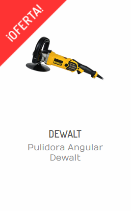 PULIDORA ANGULAR DEWALT DWP849X DE 7