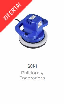 PULIDORA Y ENCERADORA ORBITAL GONI 296