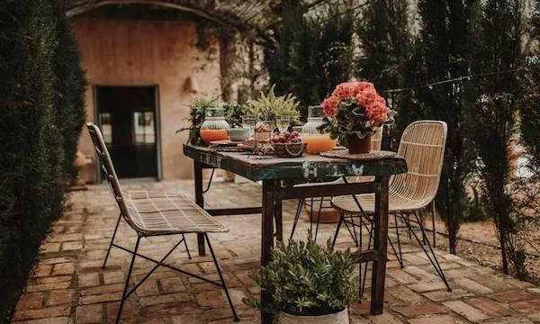 Protege tus muebles de jardín