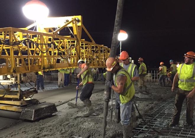 4 tipos básicos de equipos de iluminación en obras de construcción