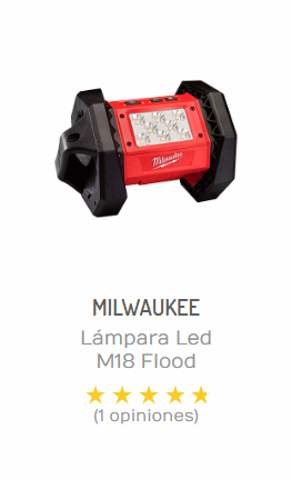 lampara led milwaukee