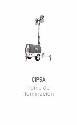 TORRE DE ILUMINACIÓN CTI6000K CIPSA 14.3 HP